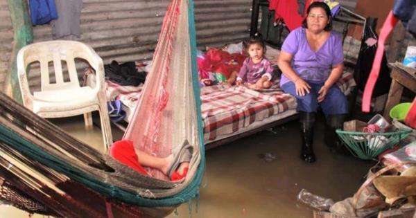 600 familias afectadas por lluvias en Villahermosa - Diario Presente