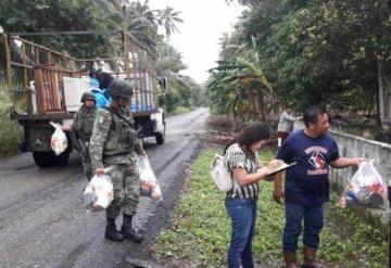 Tropas de la 30/a. Zona Militar continúan aplicando Plan DN-III-E en Tabasco
