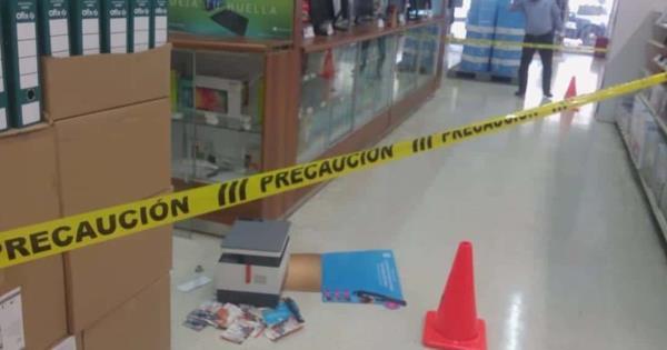 Roban en Officce de Plaza Celorio en Villahermosa - Diario Presente