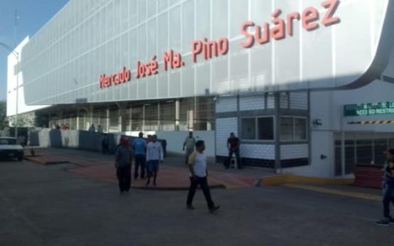 Así lucen los alrededores del Mercado Pino Suárez previo a su inauguración