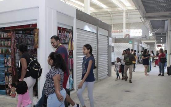 Así luce el Mercado Pino Suárez al segundo día de su inauguración