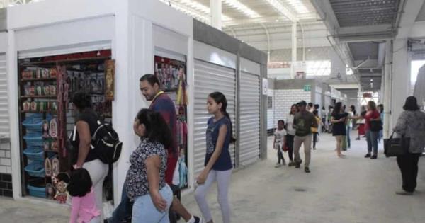 Así luce el Mercado Pino Suárez al segundo día de su inauguración - Diario Presente