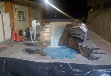 El Balcón del Usumacinta presenta la primera pintura 3D