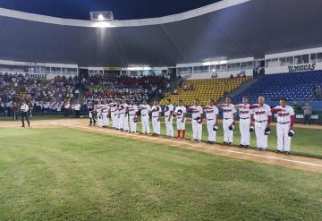 Inauguran el 1 Torneo Nacional BeisbolISSSTE en el Parque Centenario del 27 de Febrero