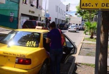 Taxistas no están de acuerdo con que desaparezca el servicio colectivo