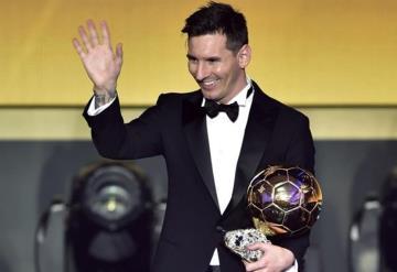 Lionel Messi consigue su sexto Balón de Oro