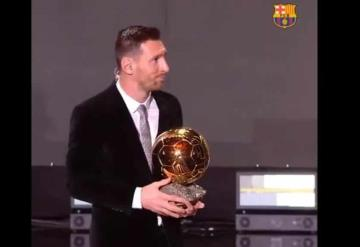 Consigue Lionel Messi su sexto Balón de Oro