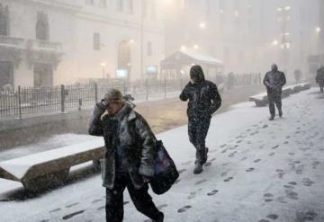 Muertes y accidentes por nevadas en EUA