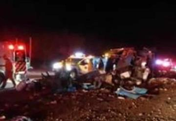 12 muertos tras accidente en Chihuahua