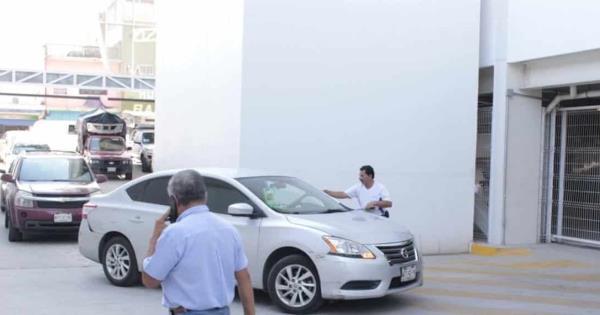 Aplican cuota en estacionamiento del nuevo Mercado Pino Suárez