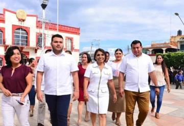 Comalcalco es seguro, afirma alcaldesa Lorena Méndez