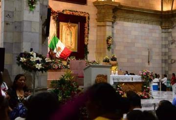 Así empiezan a llegar los feligreses al santuario de la Virgen de Guadalupe