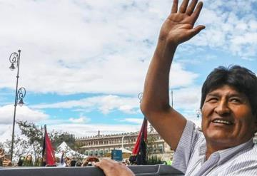 Evo Morales llega a Argentina como refugiado