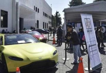 Recauda Gobierno más de 17 mdp en subastas de autos de lujo, joyas y casas