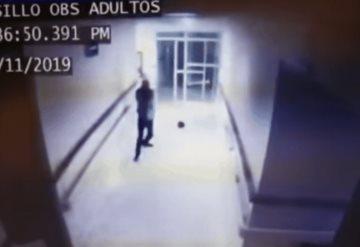 Video: Así fue el asesinato del guardia en el IMSS de Cajeme