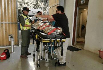 Saxofonista quemada con ácido, fue trasladada a hospital de CDMX