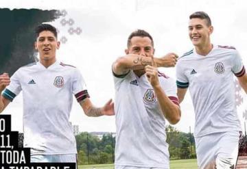 Estrena playera de visitante la Selección Mexicana