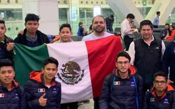 Mexicanos ganan competencia de robótica en China