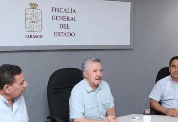 Presentan al nuevo encargado de despacho de la Policía de Investigación