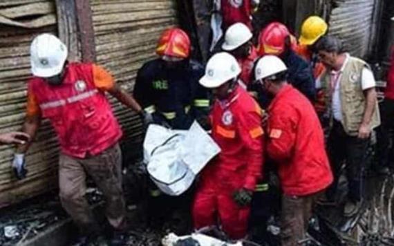 10 muertos por incendio en fábrica de Bangladesh