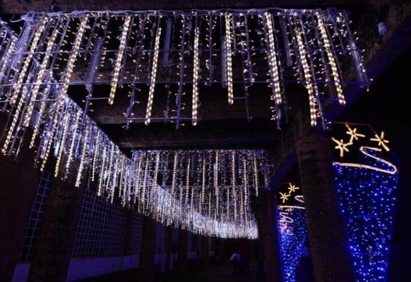 Éxito rotundo Villa iluminada de Súper Sánchez