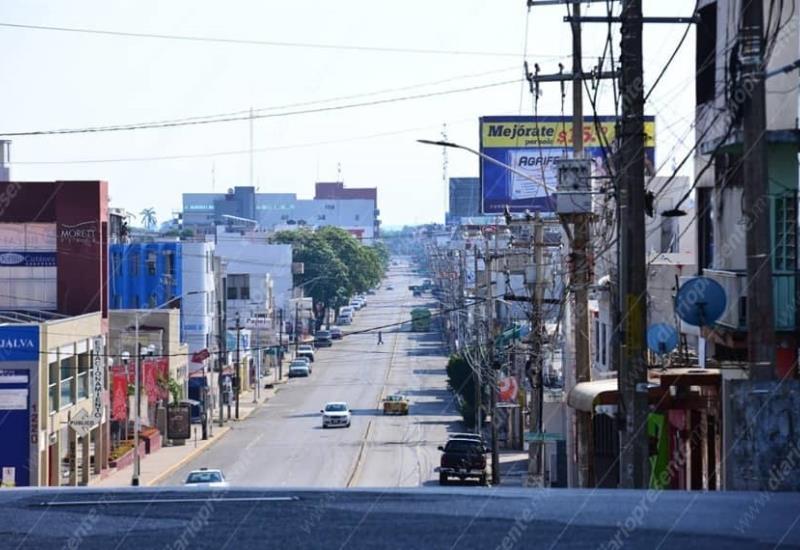 Así lucen este día las principales avenidas de Villahermosa