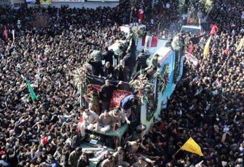 40 muertos en estampida durante funeral del general Soleimani en Irán