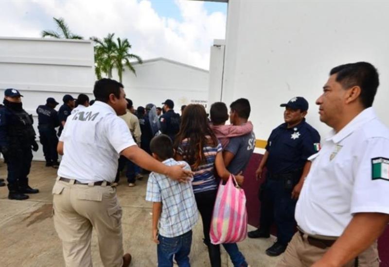 Se fugan migrantes de la Estación Migratoria de Villahermosa