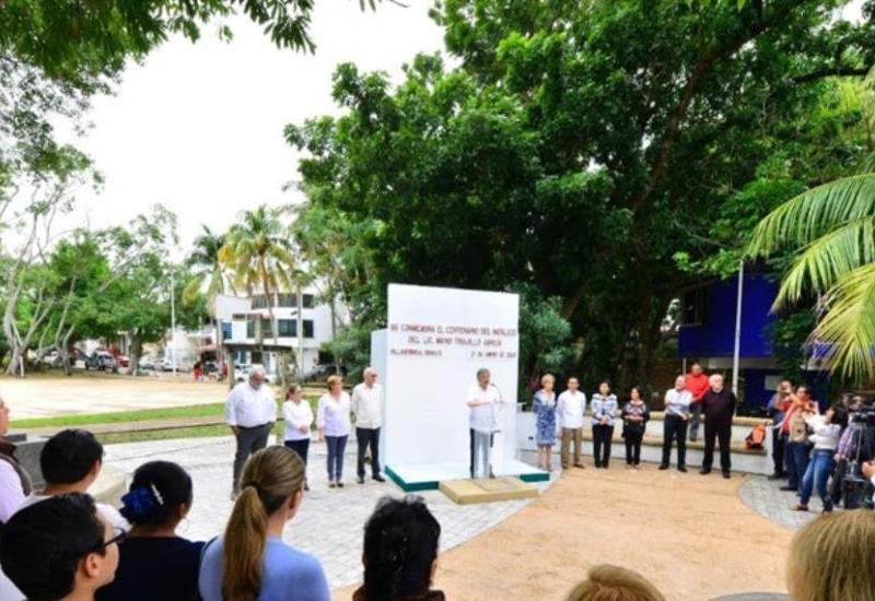 Conmemoran el centenario del natalicio de Mario Trujillo García