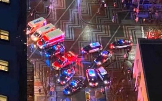 Reportan 7 heridos y un muerto en tiroteo
