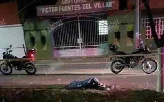Muere motociclista en accidente en Comalcalco