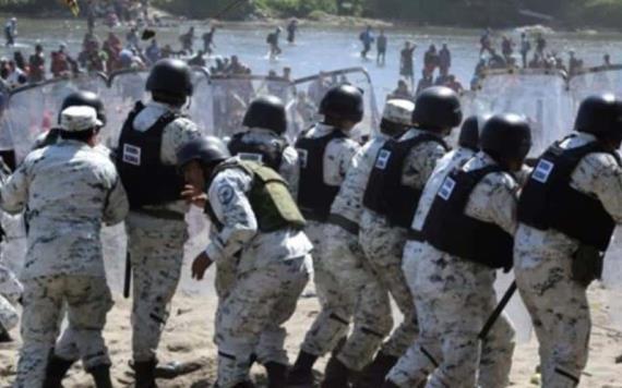 Elogia Estados Unidos actuación de la Guardia Nacional en contra de migrantes