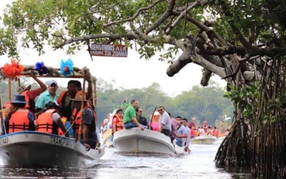 Invita ayuntamiento de Comalcalco al Festival de los Manglares el 1 de febrero