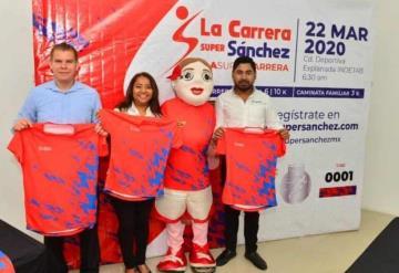 Realizará Super Sánchez la 5ta edición de su carrera atlética