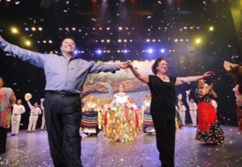 Orgullosos guardianes de las bellas artes: Elvira Vargas y Juan Torres
