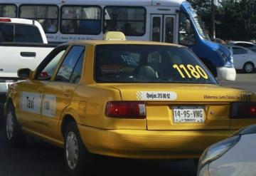 Reducirán taxistas el uso de aire acondicionado
