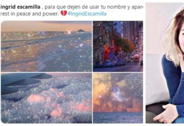 Cibernautas cuidan la memoria de Ingrid Escamilla