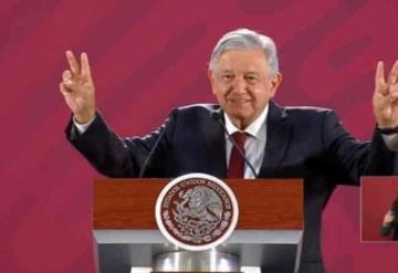 Afirma AMLO que no habrá denuncias contra expresidentes