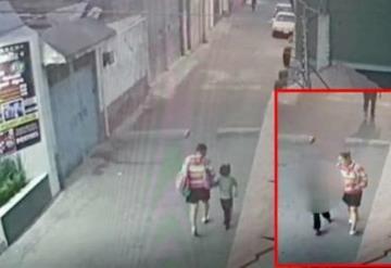 Muestran videos del momento en que Fátima, niña de 7 años asesinada, es raptada por una mujer