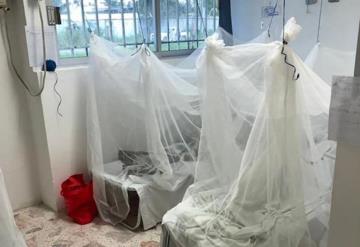 Habilitan espacio para personas con síntomas de dengue en el hospital de Paraíso