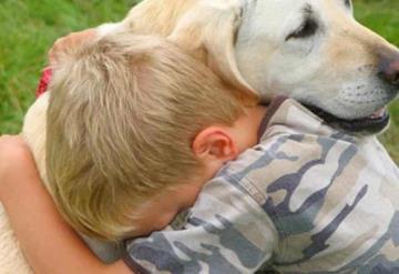 Da en adopción a su perrito porque su papá lo maltrataba