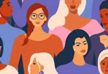Ni hombres ni políticos en la marcha 8M; feministas