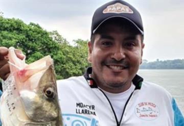 Gana Moacyr Llarena el XXI Torneo Internacional de Pesca Deportiva de Róbalo en Emiliano Zapata
