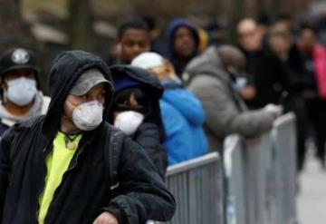 Estados Unidos registra más de 100 mil contagiados y los mil 544 muertos por Covid-19