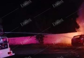 Muere joven tras choque e incendio del auto en el que viajaba