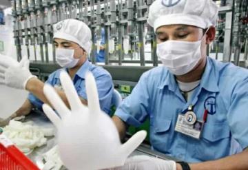 Fabrica de guantes anticipa escasez ante gran demanda