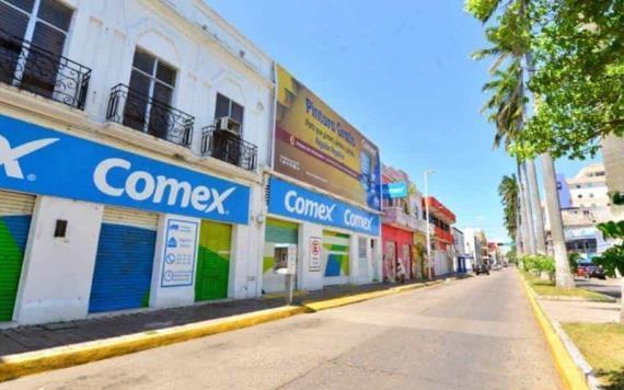 Comercios del Centro histórico de #Villahermosa bajan ´cortinas´ por bajas ventas