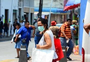 Pese a la alerta, siguen su rutina diaria en Villahermosa