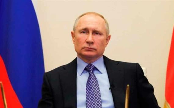 Declara Putin no laborable todo el mes de abril por coronavirus en Rusia