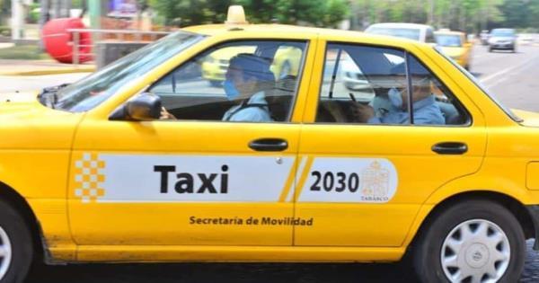 Taxistas dejan de laborar por la cuarentena; realizan pocos servicios y sus ganancias son pocas